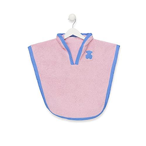 TOUS BABY - Poncho de Playa con Capucha para tu Bebé. Estampados Variados. ( Talla M/de 2 a 3 años) (Globo Rosa)
