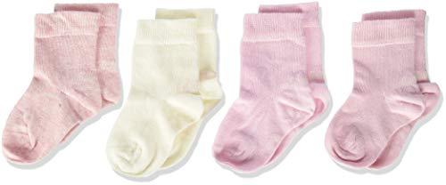 s.Oliver Socks Unisex Baby S20424000 Socken, Rosa (Rose 0012), 15-18 (Herstellergröße: 15/18) (8er Pack)