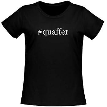 #quaffer - Women s Soft Comfortable Hashtag Short Sleeve T-Shirt Black Large