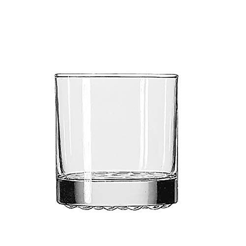 Libbey model #23386 Libbey Nob Hill Glassware - 10 1/4 oz. Old Fashioned. Sold by the case of 2 dozen (0.25 Ounce Glass)