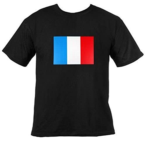 Ultrasport T-shirt lumineux à LED Noir France l