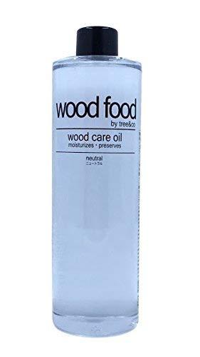 Wood Food I 木材油 I オイル (ニュートラル, 400ML)
