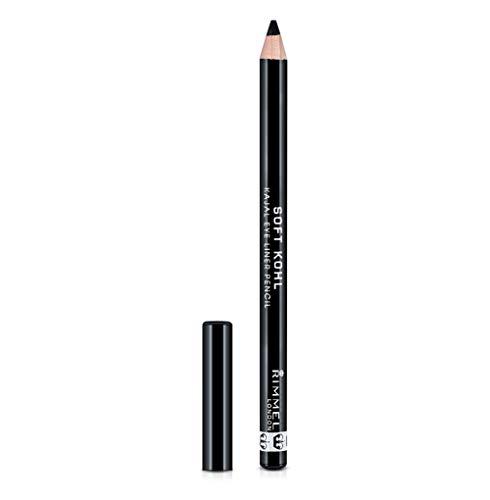 Rimmel - Soft Khôl - Crayon pour les yeux - Jet Black (Noir) - 1.2 g