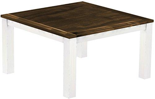 Brasilmöbel - Tavolo da pranzo Rio Classico, dimensioni e colore a scelta, in legno massello di pino