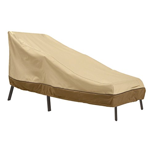 Classic Accessories Veranda Water-Resistant 86 Inch Patio Chaise Lounge Cover