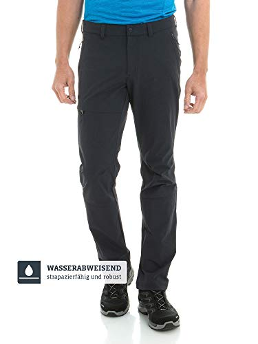Schöffel Herren Pants Koper1 bequeme und robuste Herren Hose mit 4-Wege-Stretch, elastische und wasserabweisende Wanderhose für Männer, black, 50