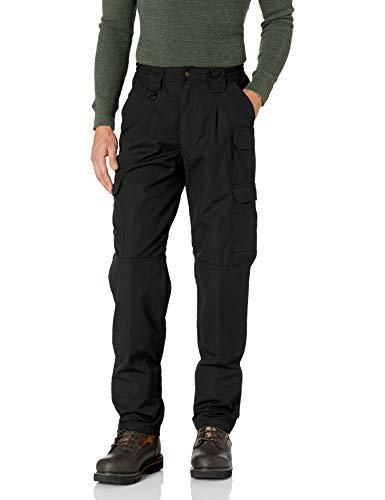 Propper Men's Canvas Tactical Pant, Black, 28 x Unfinished 37.5