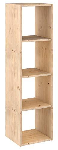 Estanterías De Madera De Pino estanterías de madera  Marca ASTIGARRAGA KIT LINE
