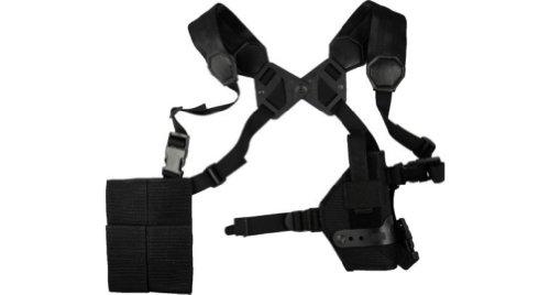 Great Deal! Elite Survival Systems ELSMASH13-B Modular/Ambidextrous Shoulder System: 3 Vertical Hols...