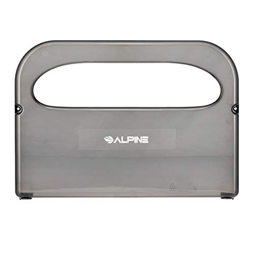 Alpine Industries Toilet Seat Cover Dispenser - Heavy Duty Cover Dispenser - Commercial Wall Mount Toilet Seat Cover Dispenser