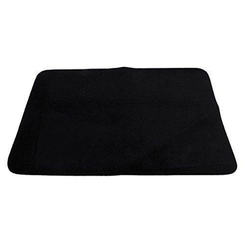 Magic Prop Poker Mat Tape Table Cloth Close Up Magic para Juegos De Poker De Color Negro Juegos de Magia y Accesorios
