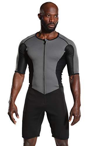 Kutting Weight Short Sleeve Sauna Suit for Men
