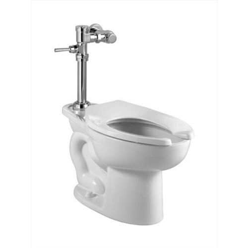 American Standard 2857.128.020 Madera ADA 1.28 GPF Toilet with Manual Flush Valve, White