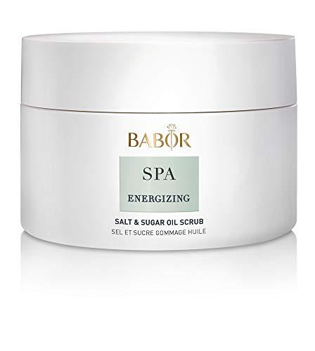 BABOR SPA Energizing Body Scrub, belebendes Körperpeeling, für weiche Haut, frischer Duft nach Apfel, Rosmarin, Eukalyptus & Lavendel, 200ml