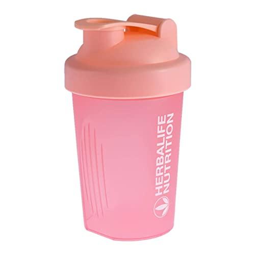 NC Coctelera de nutricion Botella Verde Rosa Color palstico Shake Cup para Deporte Drinkware Herramienta