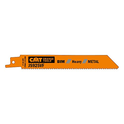 CMT JS925VF-5 Lame per Seghe a Gattuccio per Metallo, Arancione