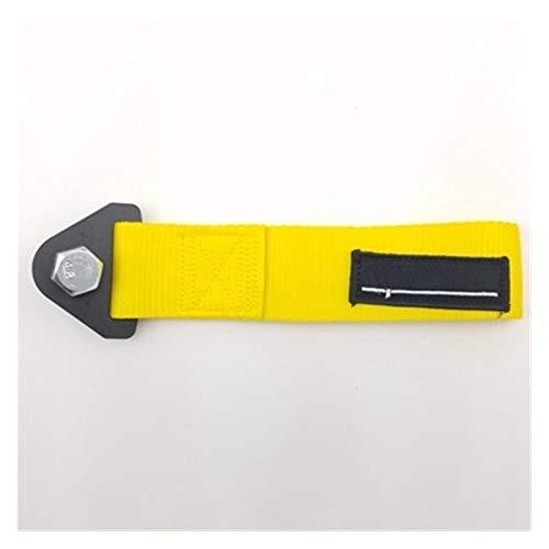 lxxiulirzeu Accesorios cabestrante Sintonización de Remolque del Coche de competición de la Correa de Remolque Correas/Remolque Cuerdas/Gancho de Remolque/Bares (Color : Yellow)