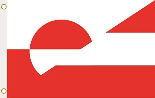 U24 Flagge Fahne Grönland-Österreich 90 x 150 cm