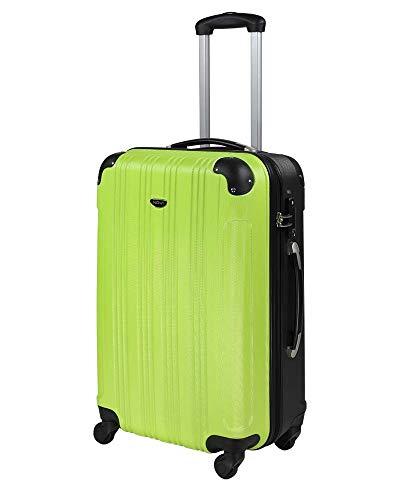 NOWI Rimini ABS Hartschale Trolley Reisekoffer Gepäck TSA Schloss 4 Rollen 61l Volumen (L)