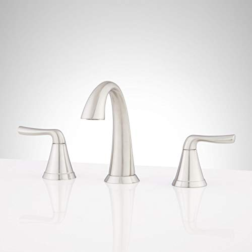 Signature Hardware 948596 Provincetown 1.2 GPM Widespread Bathroom Faucet with Pop-Up Drain Assembly
