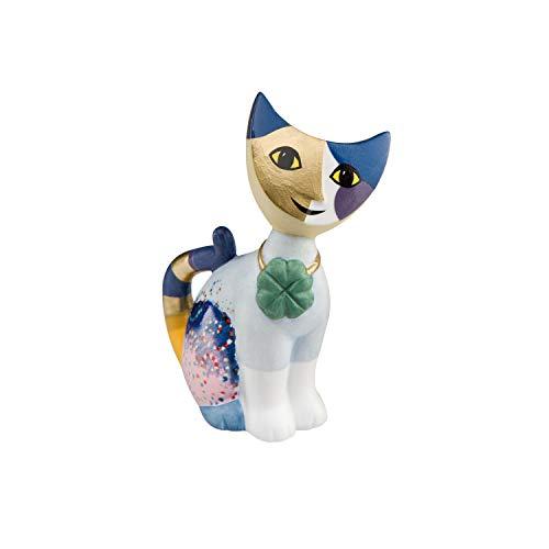 Goebel Katzenskulptur, Porzellan, Mehrfarbig, 8cm