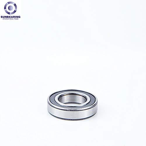 Timken 6312-2RS Rodamiento de bolas profundo del surco, medio, sello de dos contactos, diámetro del diámetro de 60 mm, diámetro de 130 mm, ancho de 31 mm