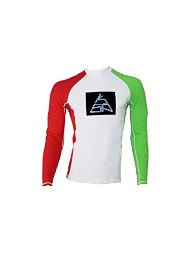 KSP Lycra Maniche Lunghe LL 9 Italy Edition S-M-L-XL T-Shirt Rash Guard for Kitesurf Kiteboard Wakeboard