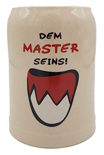 Bierkrug Franken Dem Master seins | 0.5 l | Steinkrug