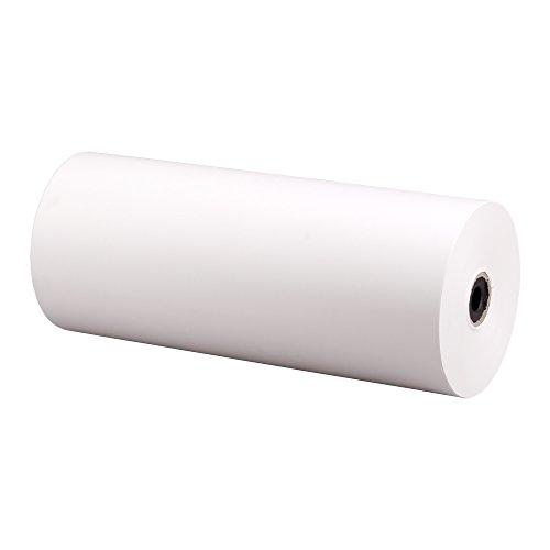 10x Lebensmitteleinschlagpapier, Einschlagpapier, Rolle, Weiß, 50 cm x 380 m