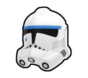 Tup Trooper Helmet - Custom Minifigure Piece