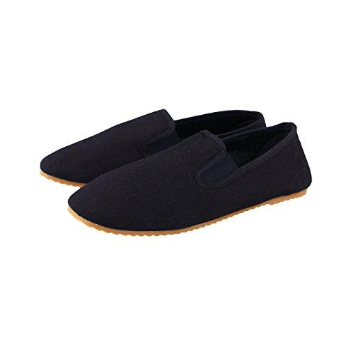 BAY® Kung Fu Slipper Schuhe schwarz (40)