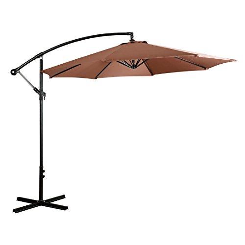 EASELAND Patio Umbrella (10ft, Beige)