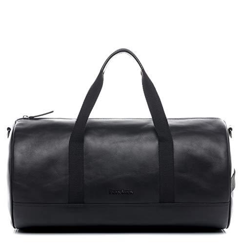 FEYNSINN borsa viaggio tracolla vera pelle vintage FINLAY M borsone bagaglio a mano sportiva 45 l duffle bag weekend uomo donna cuoio marrone