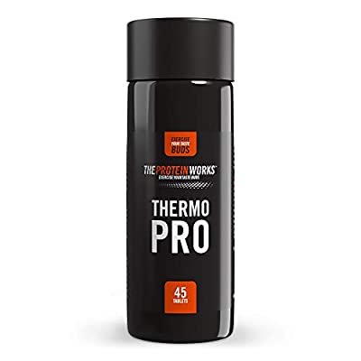 THE PROTEIN WORKS Thermopro Pre-Workout Fat Burner Capsules - 45 Capsules from The Protein Works