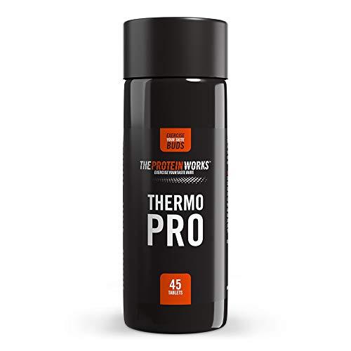 The Protein Works - Thermopro – Bruleur de Graisse Puissant - 45 Gélules