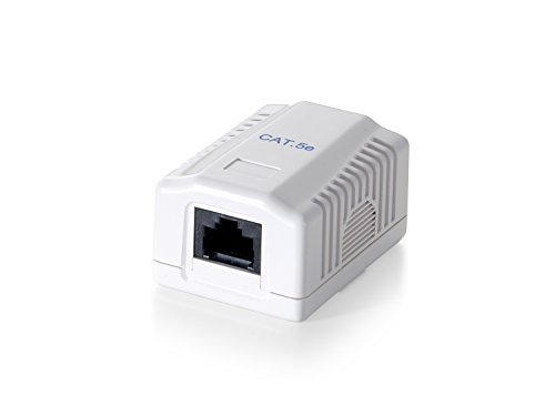 Equip 235211 - Adaptador de Cable Ethernet (Cat.6, RJ-45, Femenino), Blanco