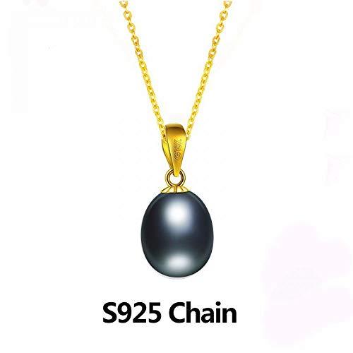 GSYDSZ 0.03ct Cubic Zirconia 3 piedras colgante Real 925 joyería de plata esterlina de moda para las mujeres no incluyen una cadena
