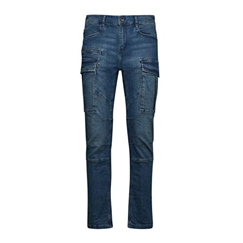 Utility Diadora - Jeans da Lavoro Pant Stone Cargo Light per Uomo e Donna (EU 28)