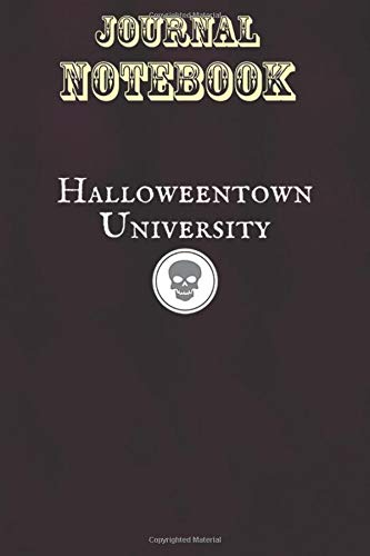 Composition Notebook, Journal Notebook Gift: Halloweentown University Size 6'' x 9'', 100 Pages for Notes, To Do Lists, Doodles, Journal, Soft Cover, Matte Finish