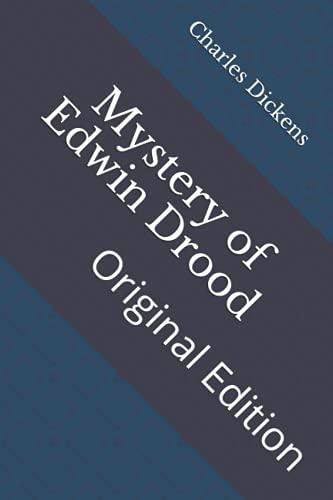 Mystery of Edwin Drood: Original Edition