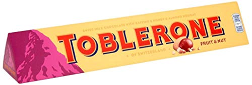 『Toblerone Large Bar Fruit and Nut Chocolate, 360g』のトップ画像