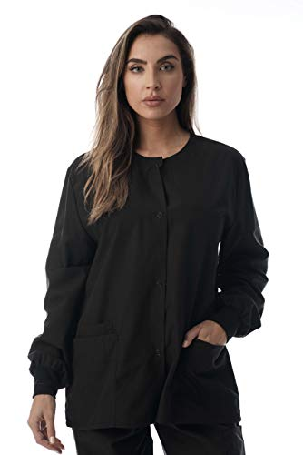 Just Love Womens Solid Jacket 4501-BLK-M Black