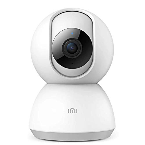 Xiaomi IMI Home Security Camera 1080P HD Global, WLAN IP Surveillance Camera with Motion Detection, Invisible IR Night Vision, Two-Way Audio