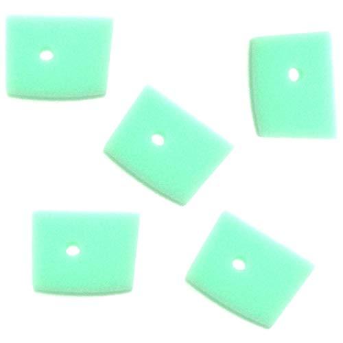 xlyze espuma filtro de aire 5pcs para Husqvarna 5371863–01325C 325L 325ld 325R 325rd 325rj cortacéspedes de Trimmers Brush Cutters obsoletos 5038881–01