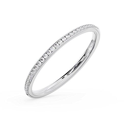 finediamondsrus - 950_Platin Platin Rundschliff Feines Weiß +/Top Wesselton (F), Feines Weiß/Top Wesselton (G) Diamant