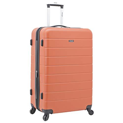 Wrangler Juego de maletas Smart Hardside con puerto de carga USB