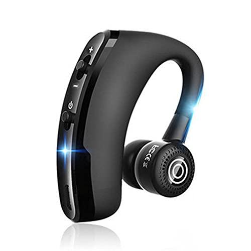 【2021進化版】Bluetooth ヘッドセット bluetooth ヘッドセット 片耳 耳掛け式 bluetooth ヘッドセット 防水 マイク付き ゲーミング ワイヤレス イヤホン 日本語音声 Bluetooth イヤホン 片耳 車用V4.1 マイク内蔵 Iphone Android Windows PC スマートフォンに対応 ミニ 軽量 ブルートゥースイヤホン 左右耳兼用 高音質 通話 ビジネス スポーツ 通勤 通学