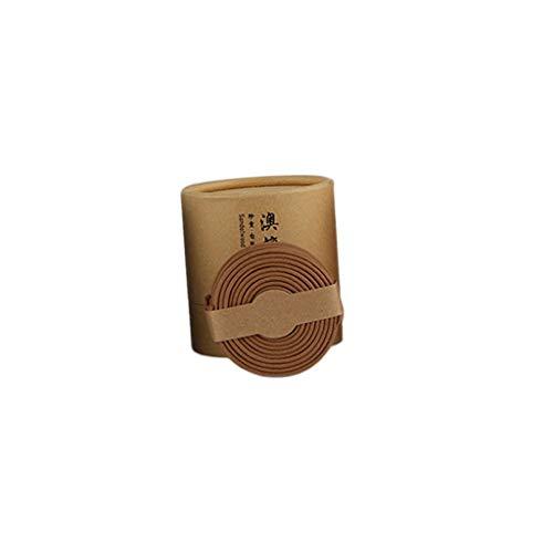 Backbayia - Lote de 48 bobinas de Incienso para aromaterapia y Quemador de Incienso en Espiral