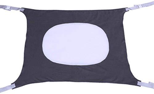 Alittle Cama de bebé Tela de malla elástica transpirable portátil Comodidad para dormir plegable y lavable Hamaca para bebé, 3