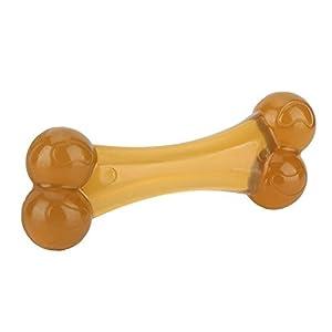 Pssopp Dog Jouets Bone à Mâcher Chiot Nettoyage Dents Molaire Bâton Jouet Material PU Résistant Aux Morsures Hygiène Dentaire Non-Toxique Dent Rongeur Jouet d'Interactif Toy d'Entraînement